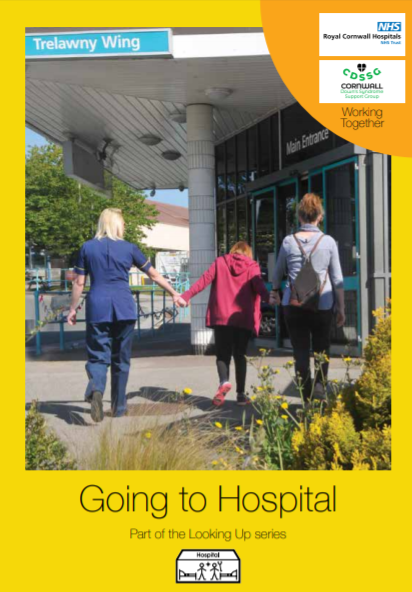 Front cover of Going to Hospital book