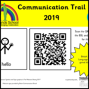 Thornbury Communication Trail poster
