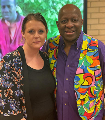 Zanna and Dave Benson Phillips