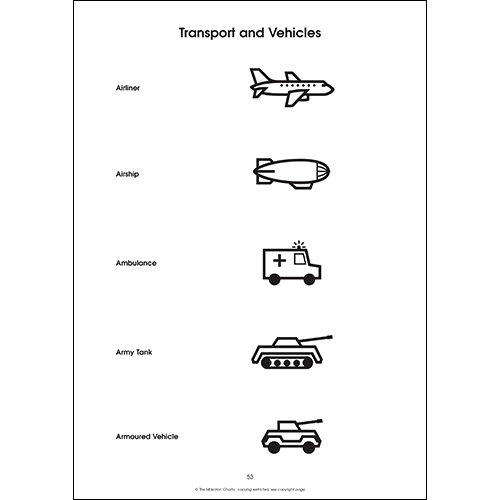 Animals, Transport and Vehicles Book of Symbols