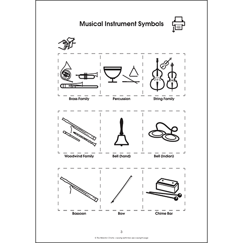 Musical Instruments (PDF file)