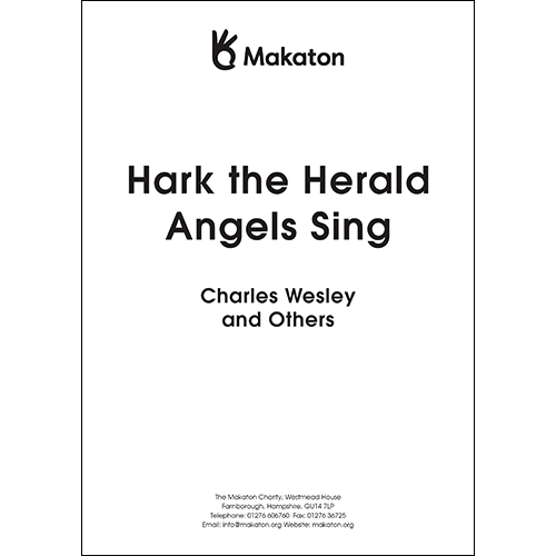 Hark The Herald Angels Sing (PDF file)