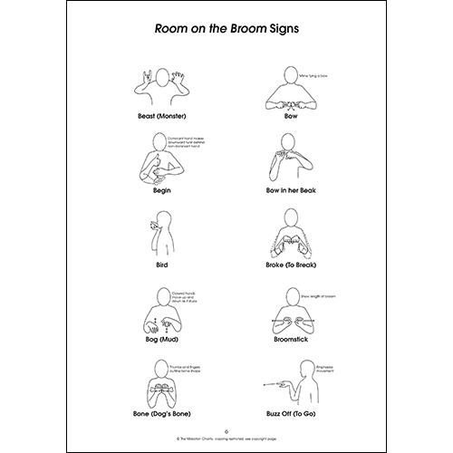 Using Makaton with Room on a Broom