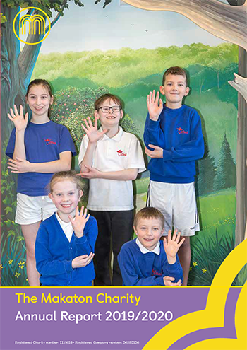 Cover of Makaton Annual Report 2019/20