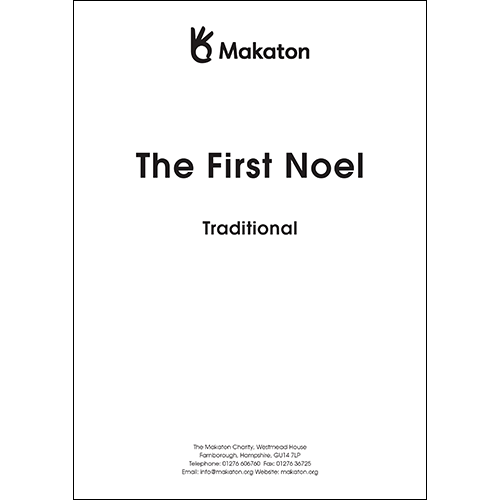 The First Noel (PDF file)