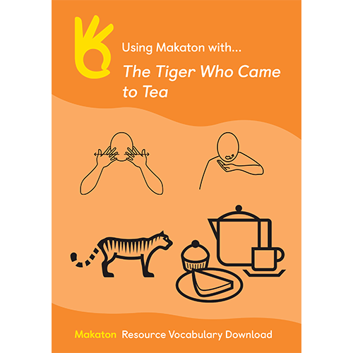Using Makaton with The Tiger Who Came to Tea
